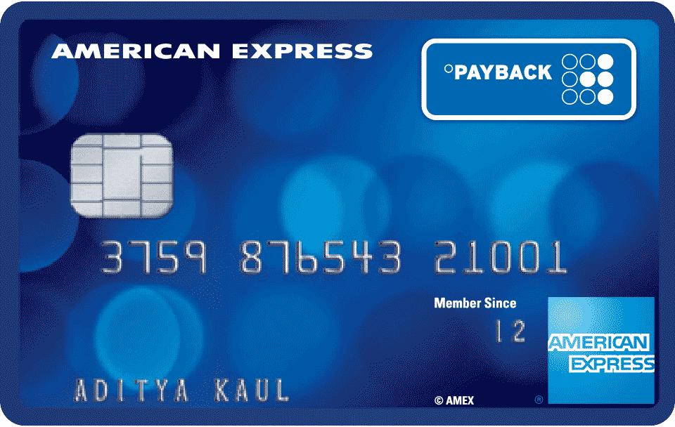 Carta PayBack Amex